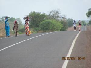 Running in Rural Africa
