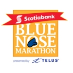 logo for Scotiabank Blue Nose International Marathon
